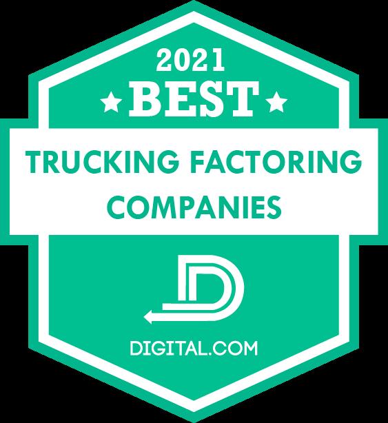 Tetra Capital fue nombrada una 2021 Mejor empresa de factoring para camiones por Digital.com