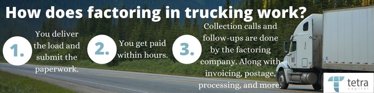 How does factoring in trucking work?