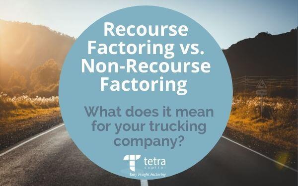 Recourse Factoring vs. Non-Recourse Factoring