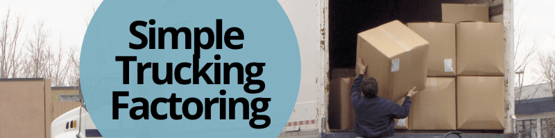 Simple trucking factoring